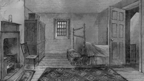 Комната, в которой умер Бёрнс