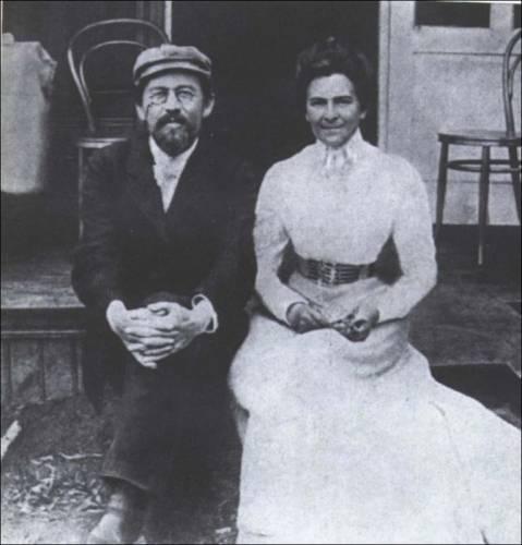 А.Чехов и О.Книппер