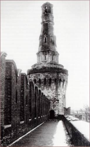 Обстрел Кремля. Беклемишевская башня