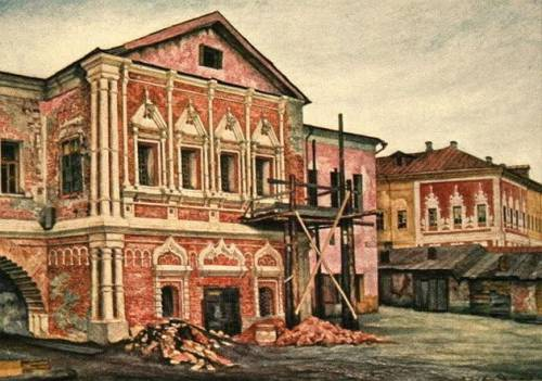 Реставрация палат Голицына